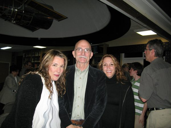 Annie Roboff and I with Bob O'Dell one of the designers of the Hubble Telescope!