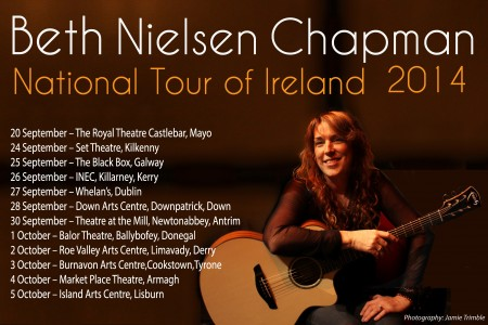 Beth Announces her National Tour of Ireland Fall 2014!