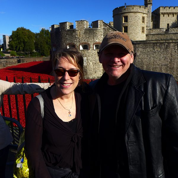 BNC & Rocky at the Tower of London Fall 2014