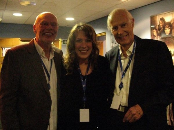 BNC sandwiched between Sir Bob Harris and Sir George Martin…yeah!