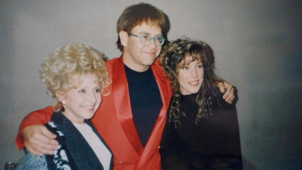 Side by side with my heroes Brenda Lee & Elton John!