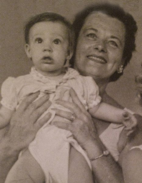 Nana Kelly holding me at around 20 months