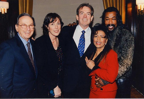 BNC amid Super songwriters! Hal David, Jimmy Webb, Ashford & Simpson….heaven!