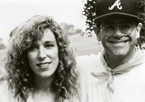 Meeting Elton at an Aids Walk in Atlanta 1990